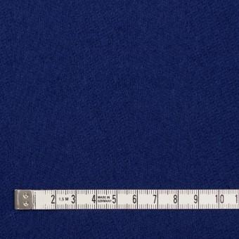 ウール×無地(マリンブルー)×かわり織 サムネイル4
