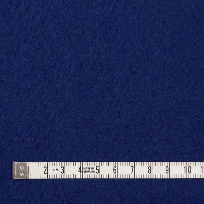 ウール×無地(マリンブルー)×かわり織 イメージ4