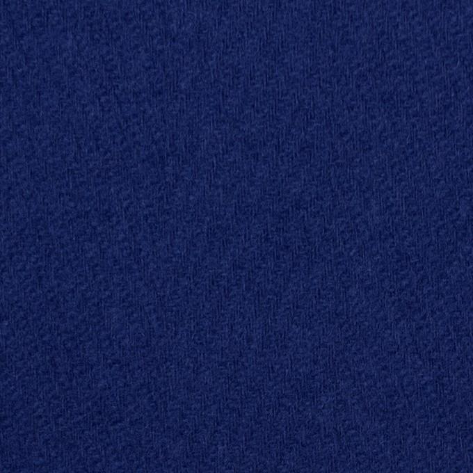 ウール×無地(マリンブルー)×かわり織 イメージ1