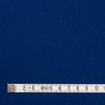 ウール×無地(ネイビーブルー)×フラノ(フランネル) サムネイル4
