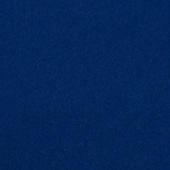 ウール×無地(ネイビーブルー)×フラノ(フランネル)