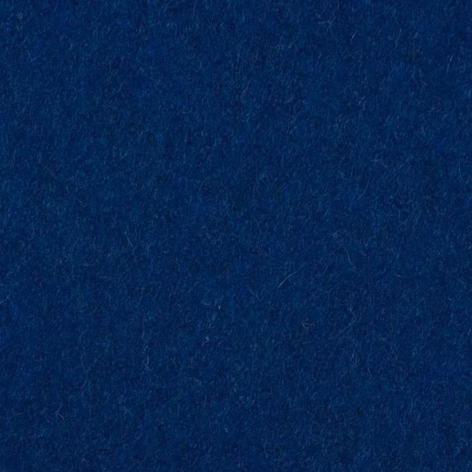 ウール&ナイロン×無地(ネイビーブルー)×メルトン イメージ1