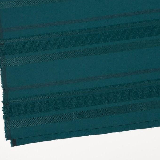 ポリエステル&ナイロン混×ボーダー(クロムグリーン)×ジャガード_全2色 イメージ2