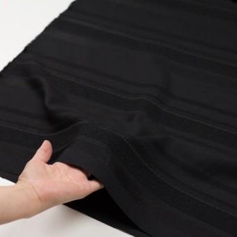 ポリエステル&ナイロン混×ボーダー(ブラック)×ジャガード_全2色 サムネイル5
