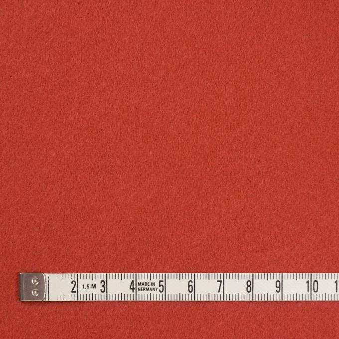 ウール&カシミア×無地(バレンシアオレンジ)×ビーバー イメージ4