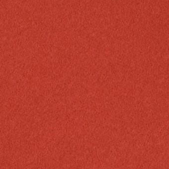 ウール&カシミア×無地(バレンシアオレンジ)×ビーバー