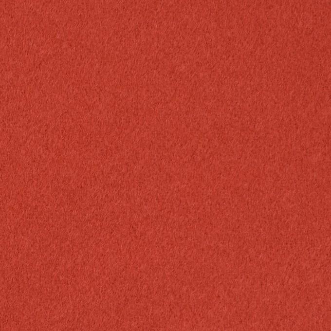 ウール&カシミア×無地(バレンシアオレンジ)×ビーバー イメージ1