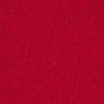 ウール&ポリエステル混×無地(レッド)×ソフトメルトン