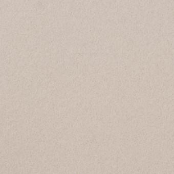 ウール&ナイロン×無地(アイボリー)×ソフトメルトン