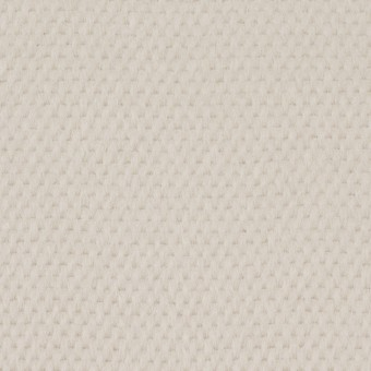 ウール&アンゴラ×無地(アイボリー)×かわり織