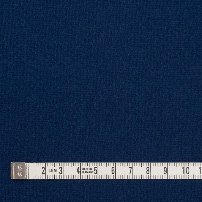 ウール&ナイロン×無地(ネイビーブルー)×厚カルゼ イメージ4