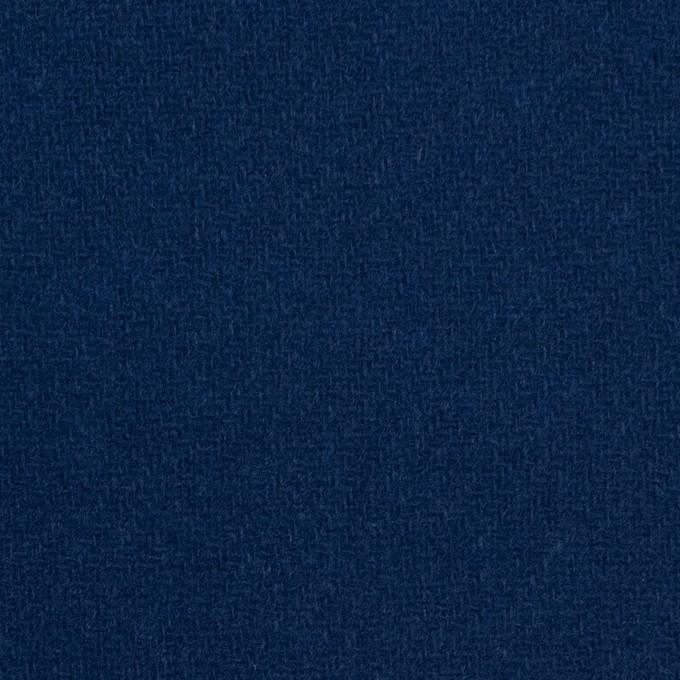 ウール&ナイロン×無地(ネイビーブルー)×厚カルゼ イメージ1