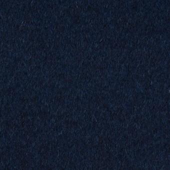ウール&カシミア×無地(ミッドナイトブルー)×ビーバー