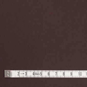 コットン&ナイロン混×無地(チョコレート)×サテンストレッチ_全6色 サムネイル4