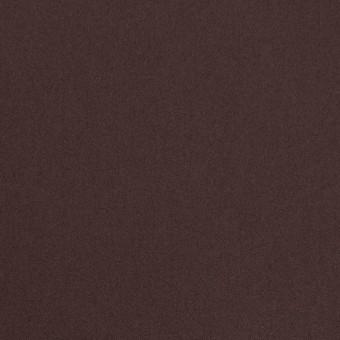 コットン&ナイロン混×無地(チョコレート)×サテンストレッチ_全6色