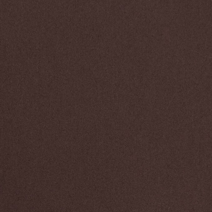 コットン&ナイロン混×無地(チョコレート)×サテンストレッチ_全6色 イメージ1