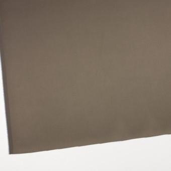 コットン&ナイロン混×無地(カーキ)×サテンストレッチ_全6色 サムネイル2