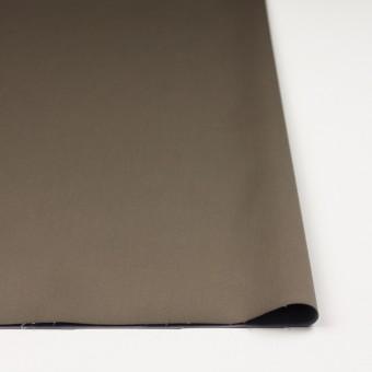 コットン&ナイロン混×無地(カーキ)×サテンストレッチ_全6色 サムネイル3
