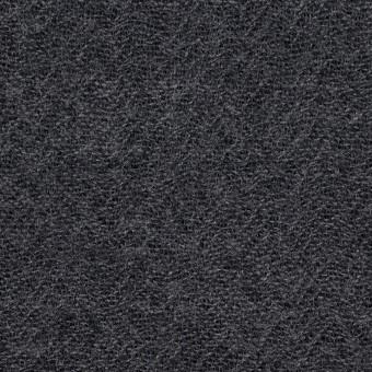 ウール×無地(チャコールグレー)×ガーゼ_全5色