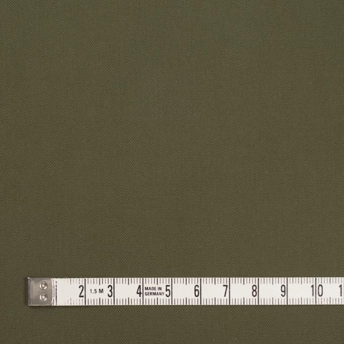 コットン×無地(カーキグリーン)×ギャバジン_全3色 イメージ4