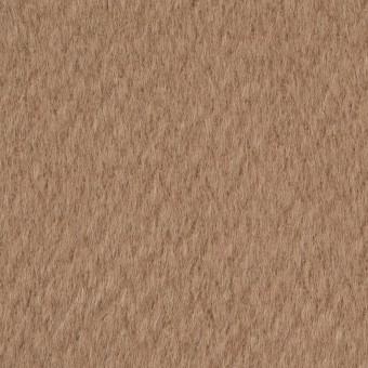 ウール&ナイロン×無地(カフェオレ)×シャギー