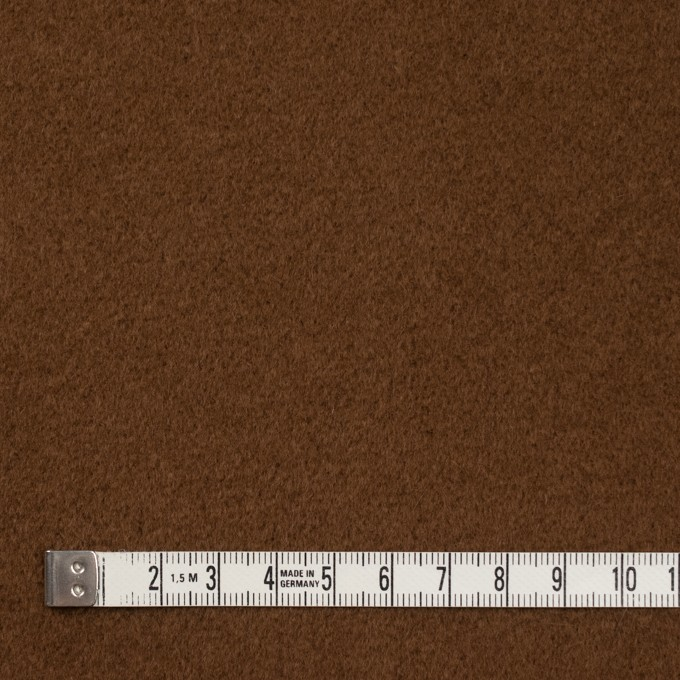 ウール&アンゴラ×無地(ブラウン)×ビーバー イメージ4