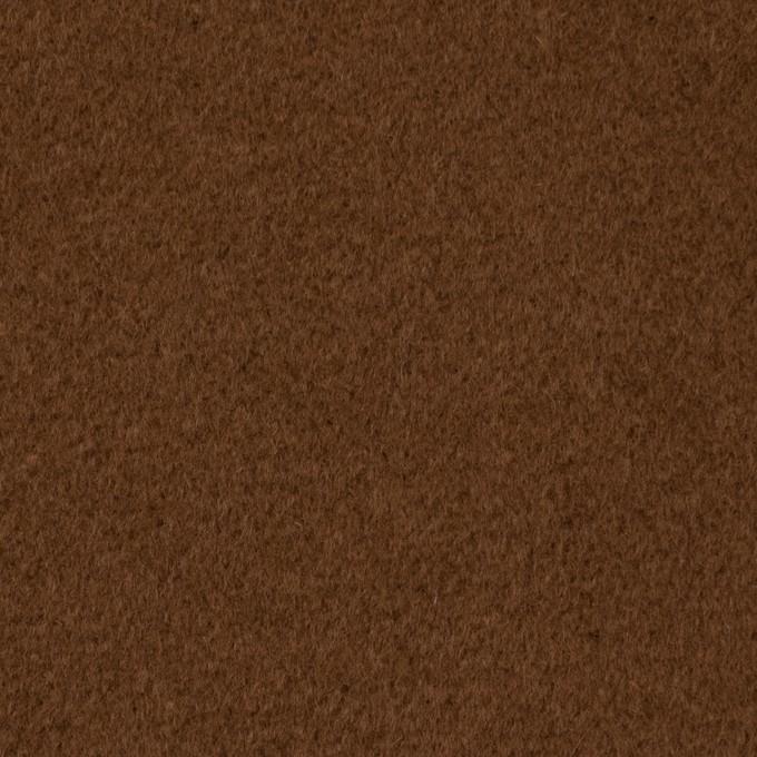 ウール&アンゴラ×無地(ブラウン)×ビーバー イメージ1