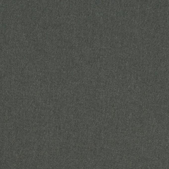 ウール×無地(スレートグリーン)×フラノ(フランネル) イメージ1