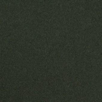 ウール&ナイロン×無地(モスグリーン)×ソフトカルゼ