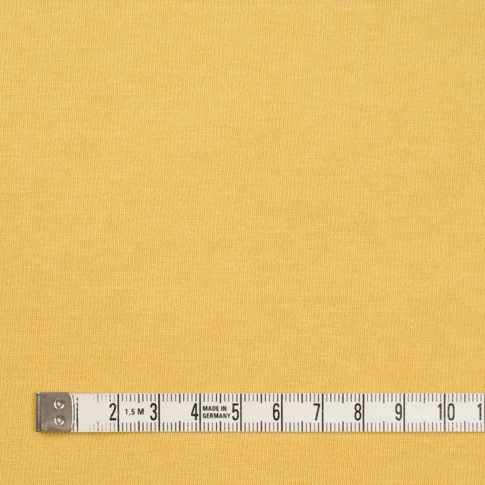 コットン×無地(イエロー)×天竺ニット_全3色 イメージ4