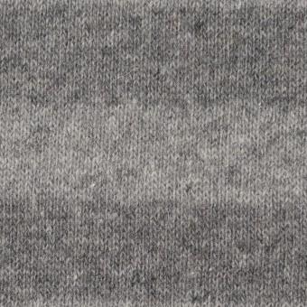ウール×ボーダー(ライトグレー&グレー)×天竺ニット