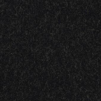 ウール&ナイロン×無地(ブラック&ライムグリーン)×かわり織_全2色