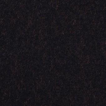 ウール&ナイロン×無地(ブラック&パッションオレンジ)×かわり織_全2色