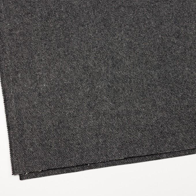 ウール&ナイロン×ミックス(アイボリー&ブラック)×ツイード イメージ2