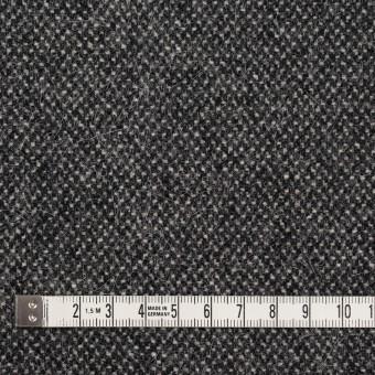 ウール&ナイロン×ミックス(アイボリー&ブラック)×ツイード サムネイル4