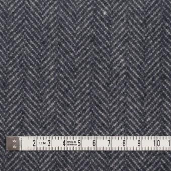 ウール&ナイロン×ミックス(ブルーグレー)×ヘリンボーン_全2色 サムネイル4