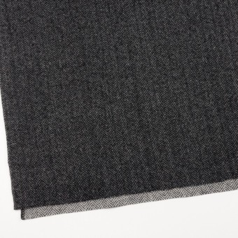 ウール&ナイロン×ミックス(チャコールグレー)×ヘリンボーン_全2色 サムネイル2