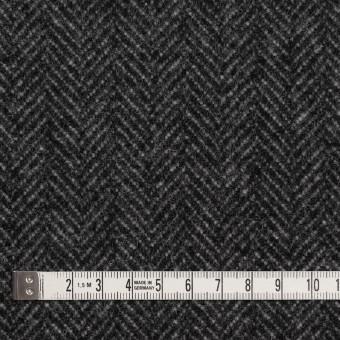 ウール&ナイロン×ミックス(チャコールグレー)×ヘリンボーン_全2色 サムネイル4