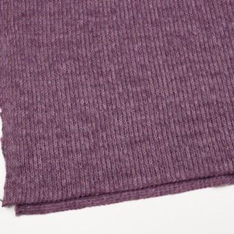 モヘア&ウール混×無地(モーブ)×バルキーニット_全3色_イタリア製 サムネイル2