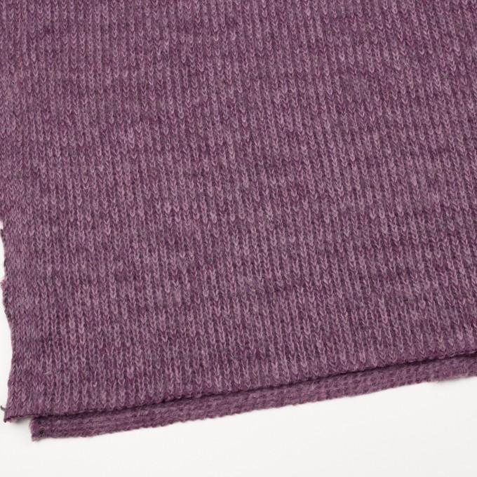 モヘア&ウール混×無地(モーブ)×バルキーニット_全3色_イタリア製 イメージ2