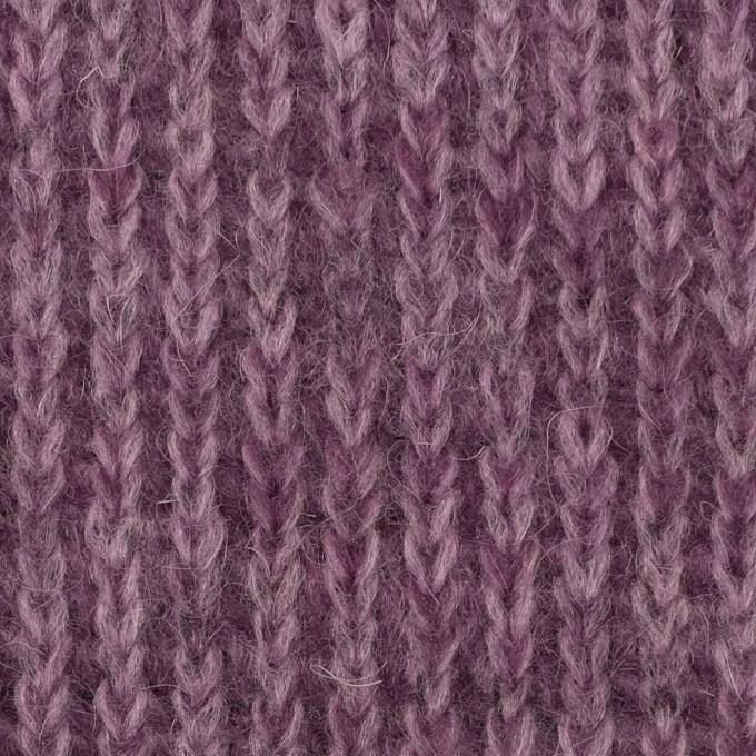 モヘア&ウール混×無地(モーブ)×バルキーニット_全3色_イタリア製 イメージ1