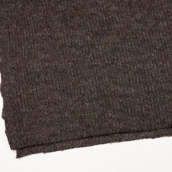 モヘア&ウール混×無地(ダークブラウン)×バルキーニット_全3色_イタリア製 サムネイル2