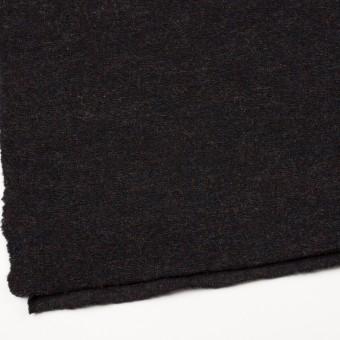 モヘア&ウール混×ミックス(チャコール)×ループニット_イタリア製 サムネイル2