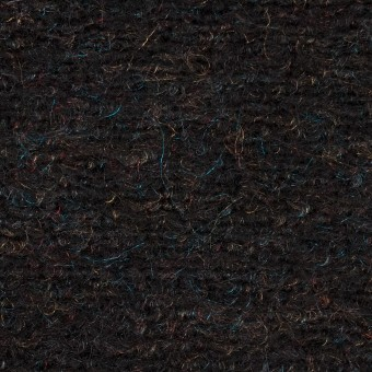 モヘア&ウール混×ミックス(チャコール)×ループニット_イタリア製