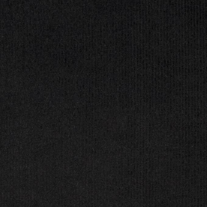 コットン×無地(ブラック)×細コーデュロイ_全8色 イメージ1