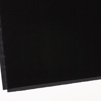ポリエステル&ポリウレタン×無地(ブラック)×ニットベロア サムネイル2