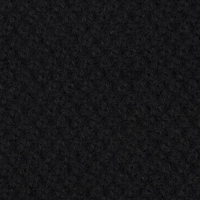 ウール×無地(ブラック)×かわり織_全3色 イメージ1