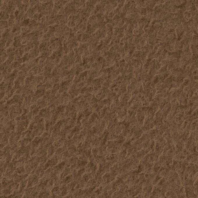 ウール&ナイロン×無地(モカ)×かわり織 イメージ1