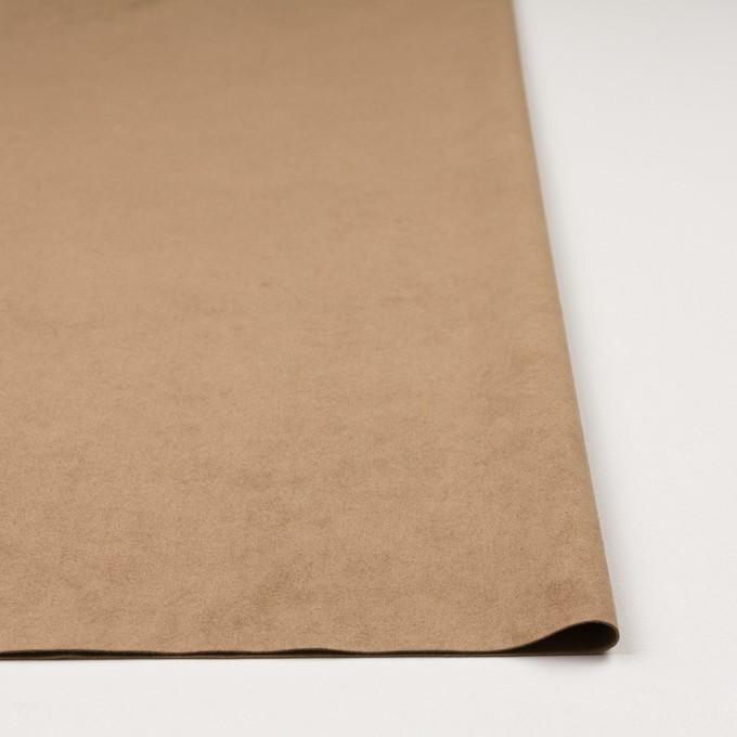 ポリエステル&ポリウレタン×無地(オークルベージュ)×スエード(人工皮革)_全3色 イメージ3