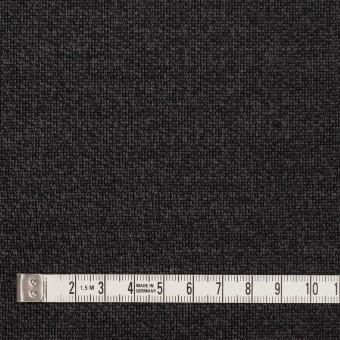 コットン&ナイロン混×無地(チャコール)×裏毛ニット サムネイル4